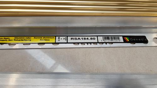 RGA-084.80 ALUM 2.5M RAMP 8mm