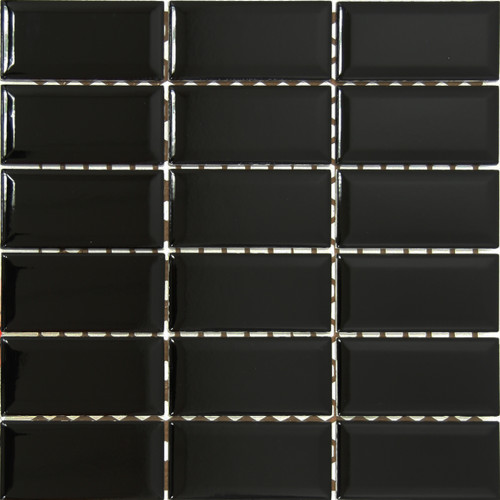 Metro Black Gloss Bev 5x10