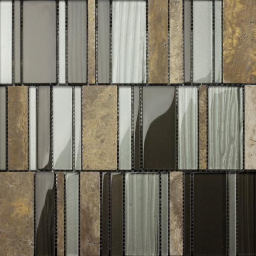 Arki Stone Mix Strips 10x30Cm