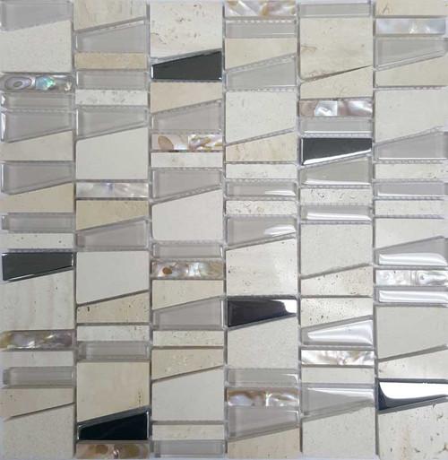 Beige Paua/ Marble/Gl Modern
