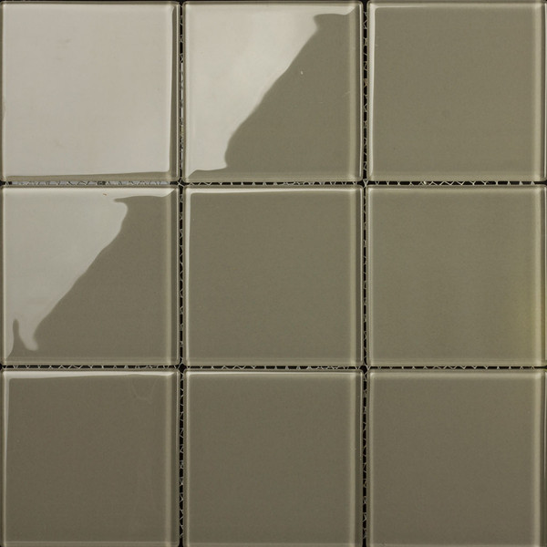 GLASS MOSAIC 4S-100mm CLAY