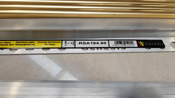 Aluminium L-Angle 18mm x 2.5m