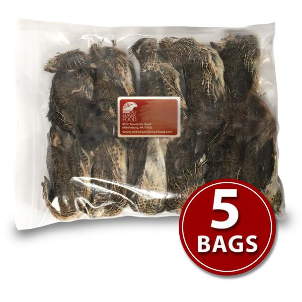 Coturnix Quail - 5 Bags
