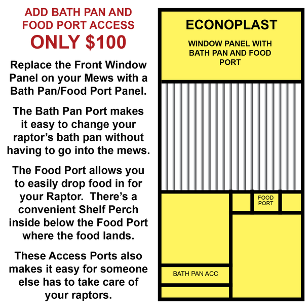 Econoplast Mews Add-on for 8FT X 12FT X 8FT