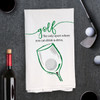 Golf Drink & Drive Kitchen Towel