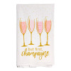 But First, Champagne Kitchen Towel