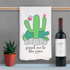 Point Me To The Wine Kitchen Towel