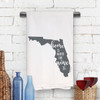 Florida Home Is Kitchen Towel
