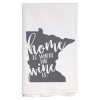 Minnesota Home Is Kitchen Towel