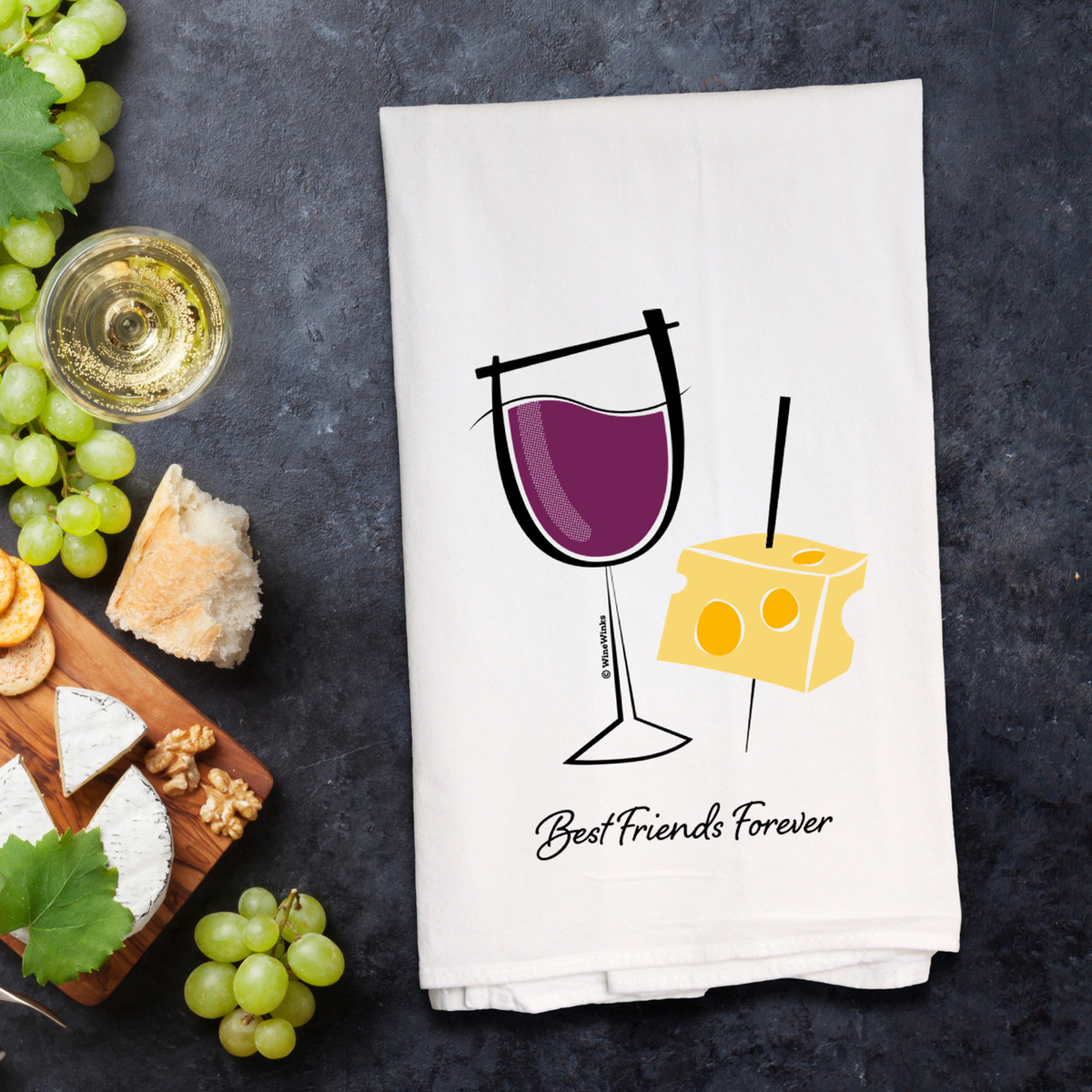 Best Friends Forever Kitchen Towel - out of stock until August