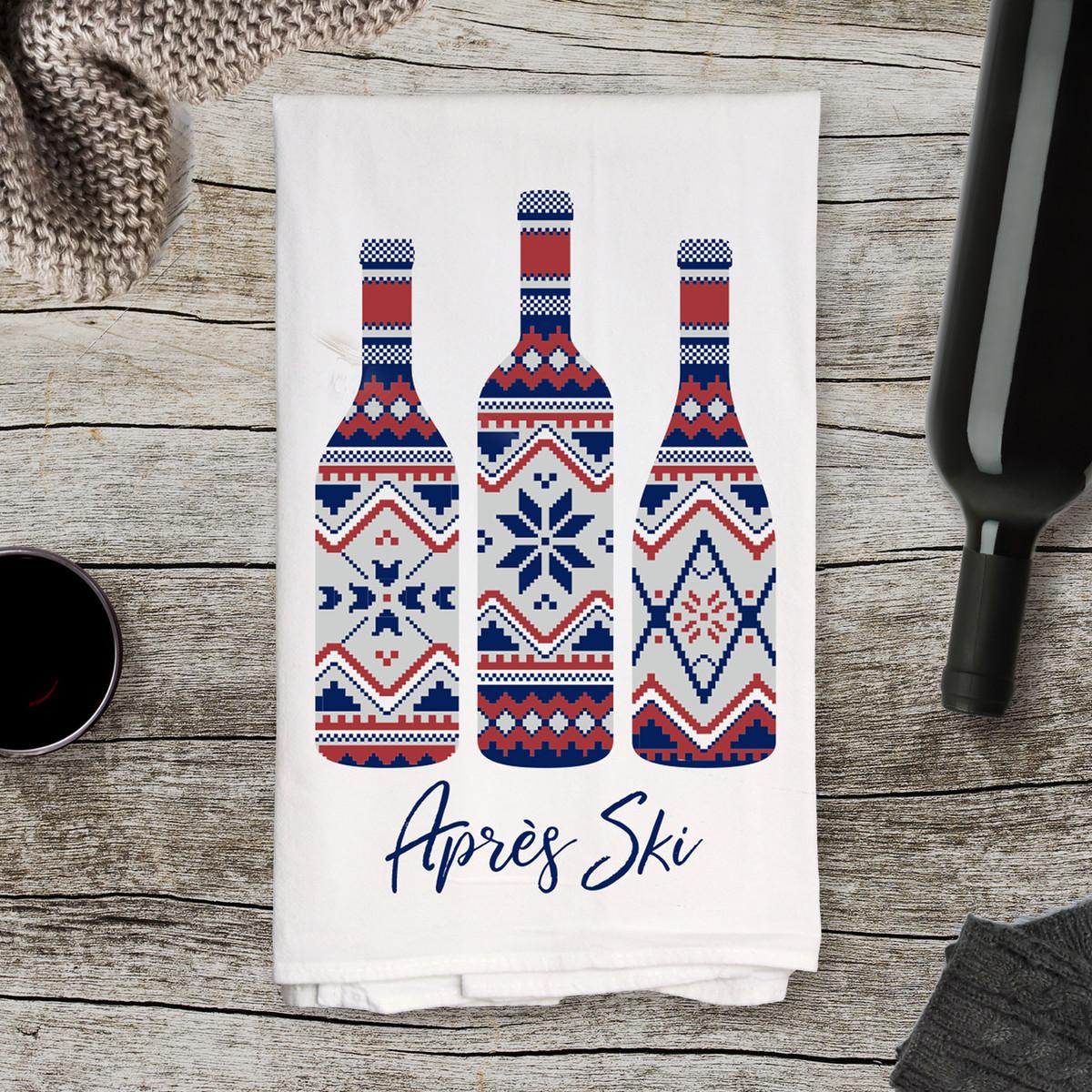 Apres' Ski Kitchen Towel