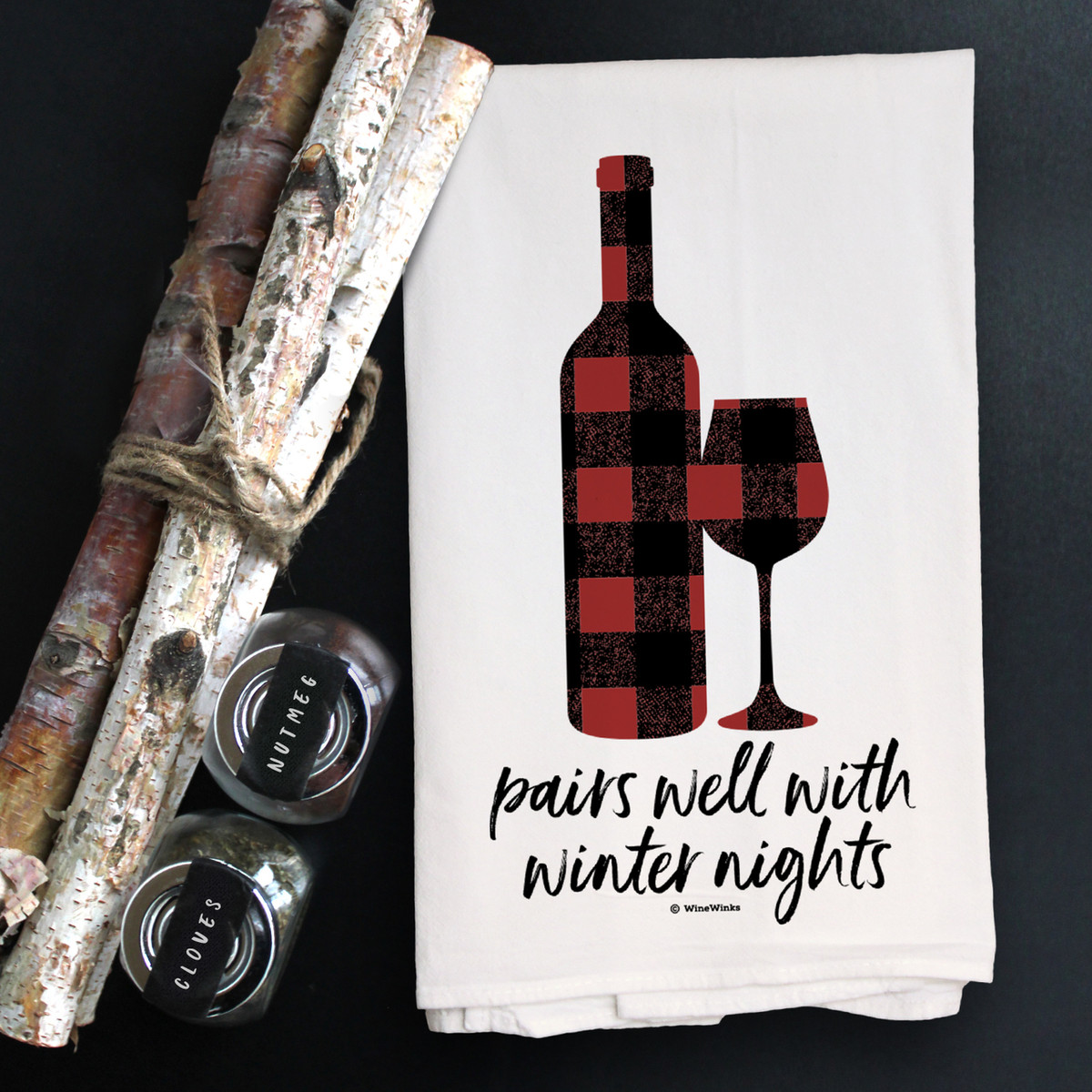 Pairs With Winter Nights Kitchen Towel (out of stock)