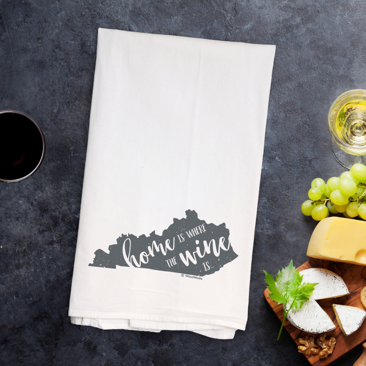 Kentucky Home Is Kitchen Towel