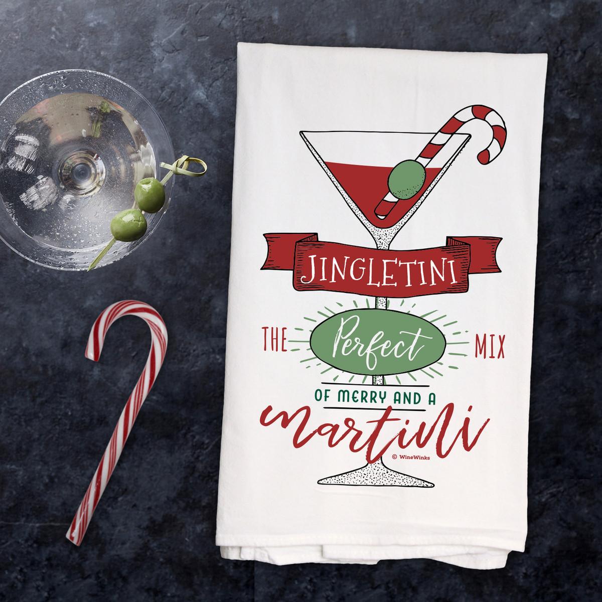 Jingletini Kitchen Towel