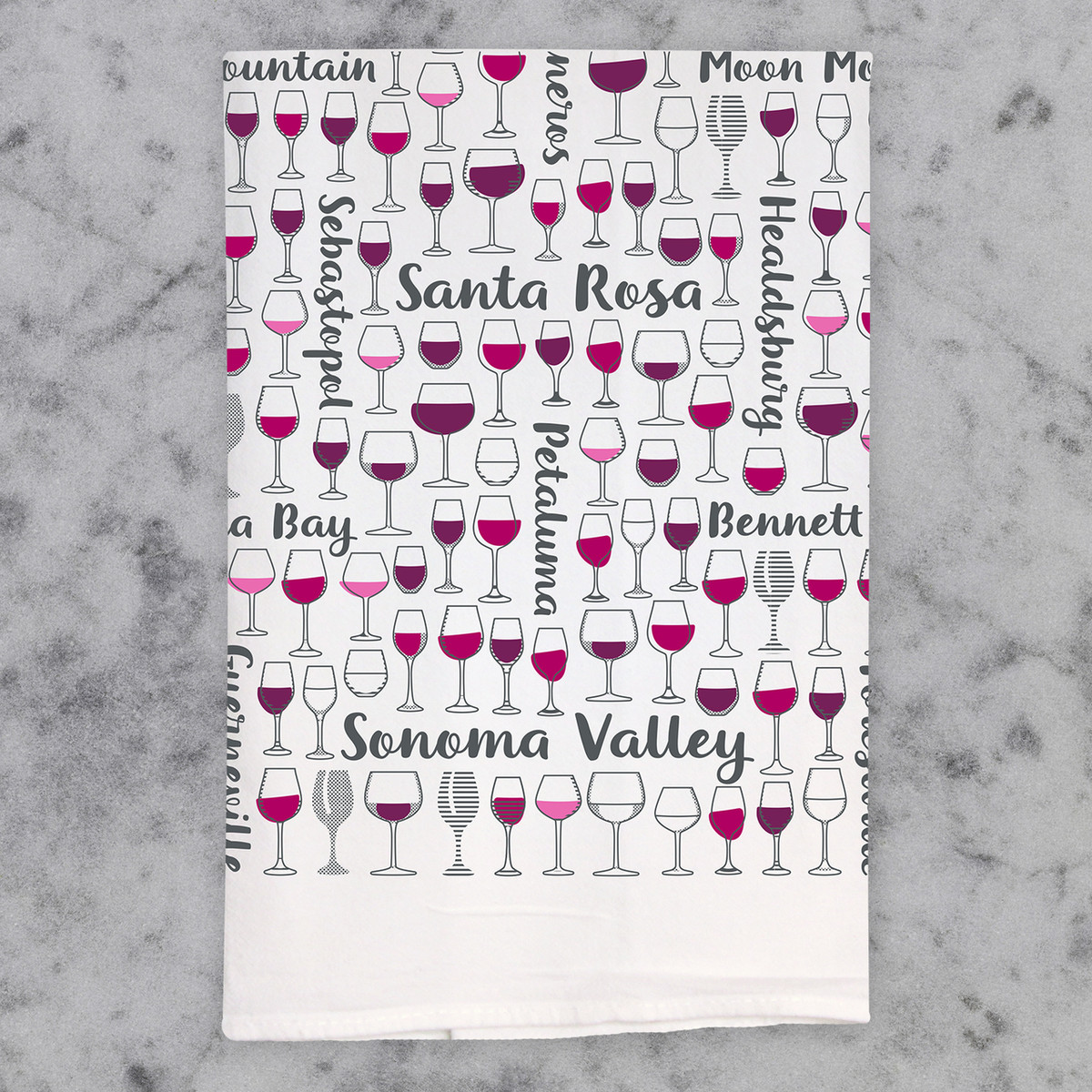 Sonoma Valley Cheers Bar Linen
