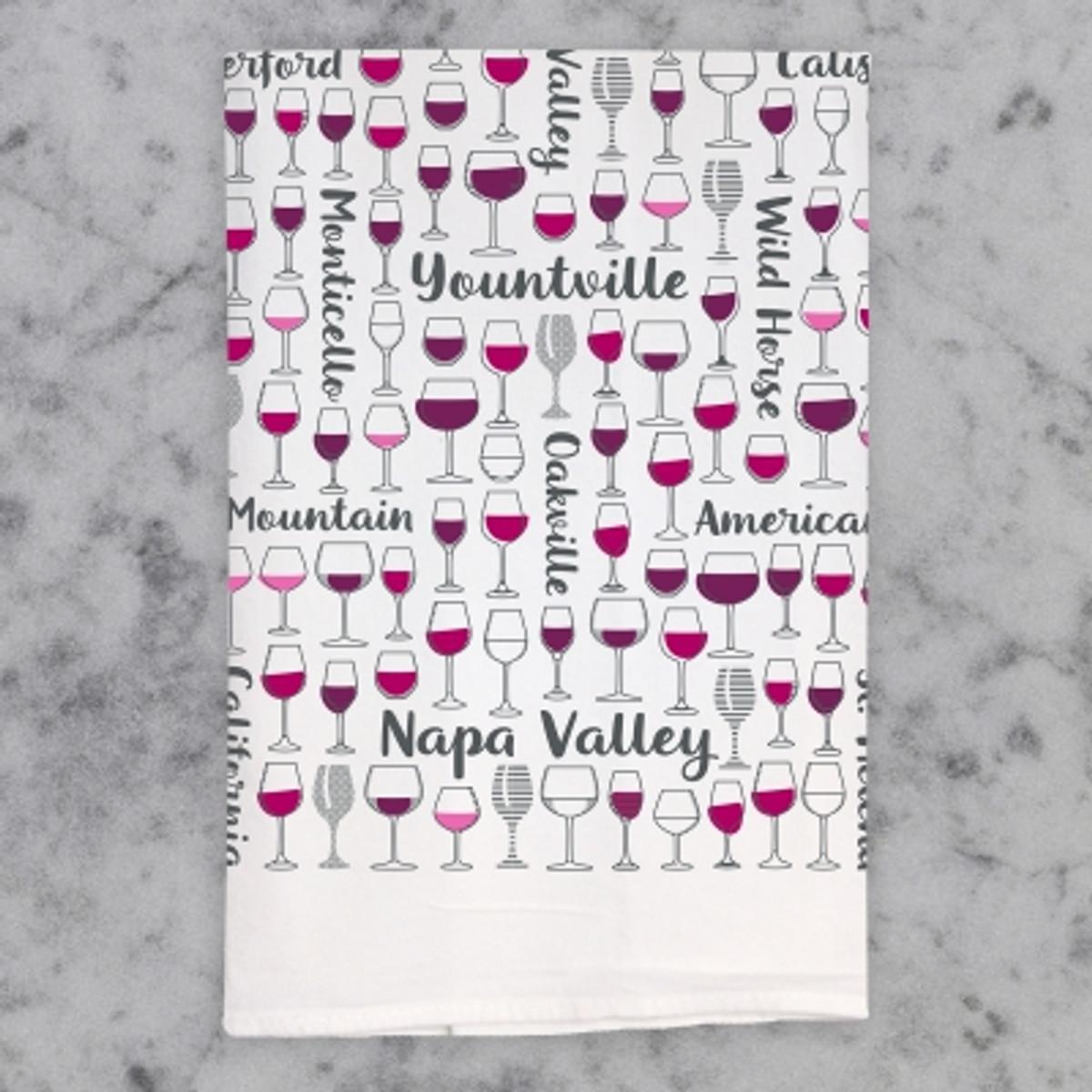 Napa Valley Cheers Bar Towel
