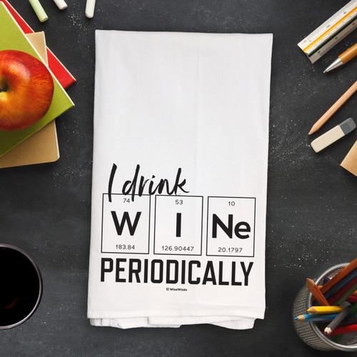 Wine Periodically Kitchen Towel