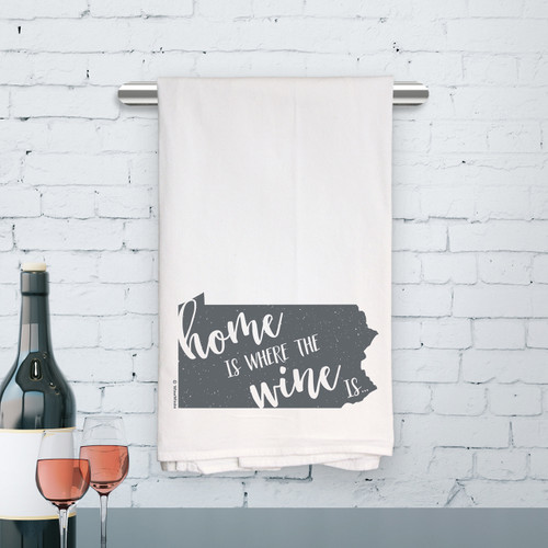 Pennsylvania Home Is Kitchen Towel