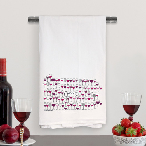 Cheers Pennsylvania Kitchen Towel