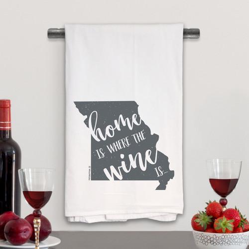 Missouri Home Is Kitchen Towel