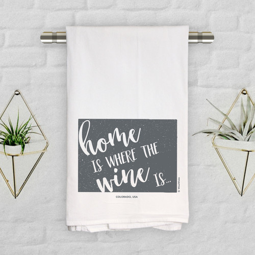 Colorado Home Is Kitchen Towel