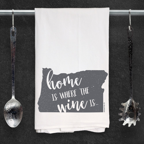 Oregon Home Is Kitchen Towel