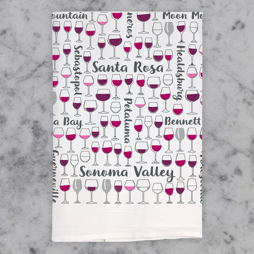 Sonoma Valley Cheers Bar Linen