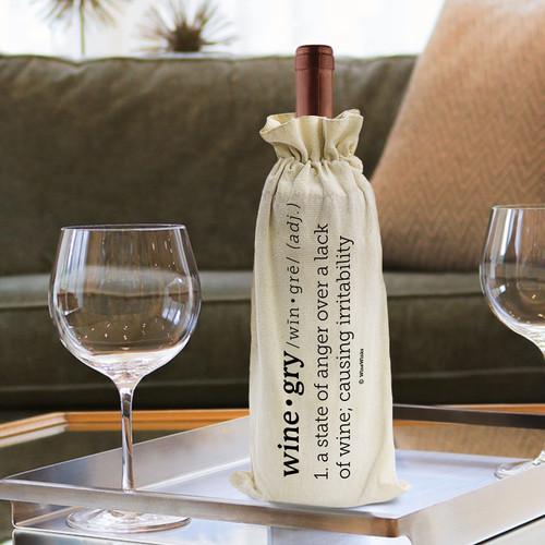 Wine-gry Wine Bag