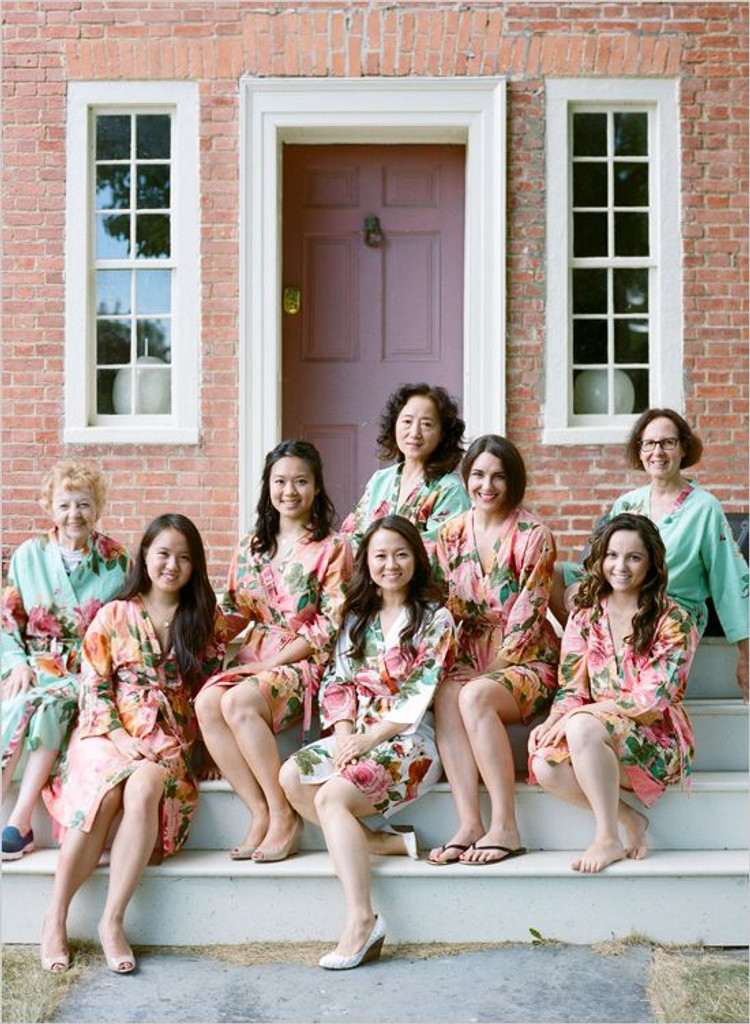 Mix and Match Large Floral Blossom Robes
