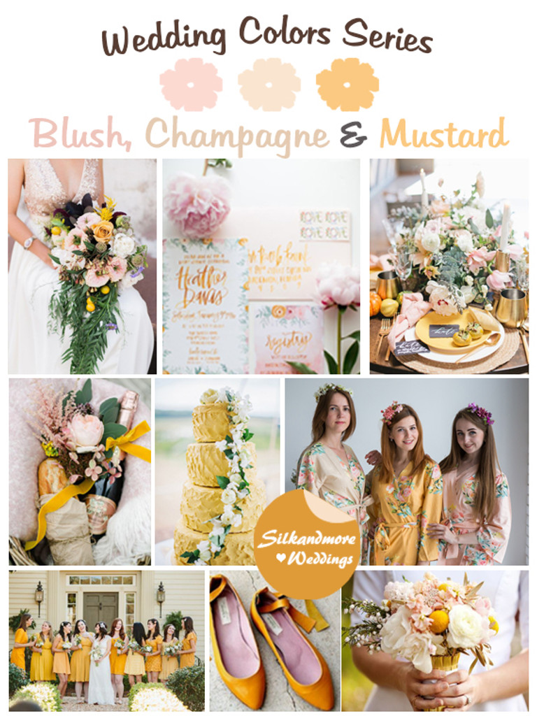 49+ Cool Champagne And Ivory Wedding Colors - Brides24