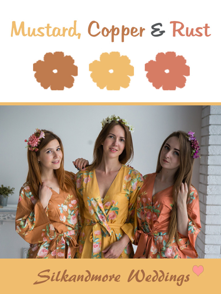 Mustard, Copper and Rust - Premium Rayon Collection