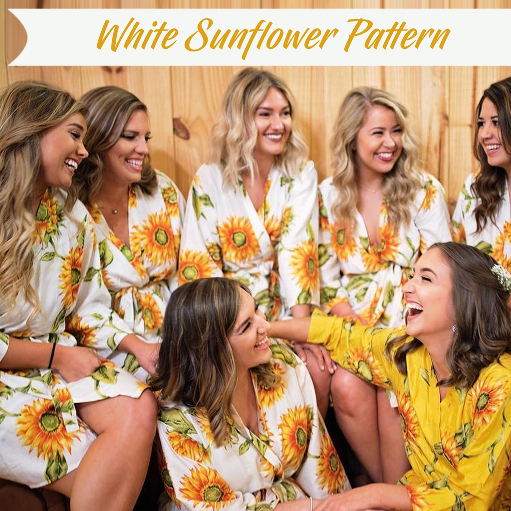 set of 7 bridesmaids robes
