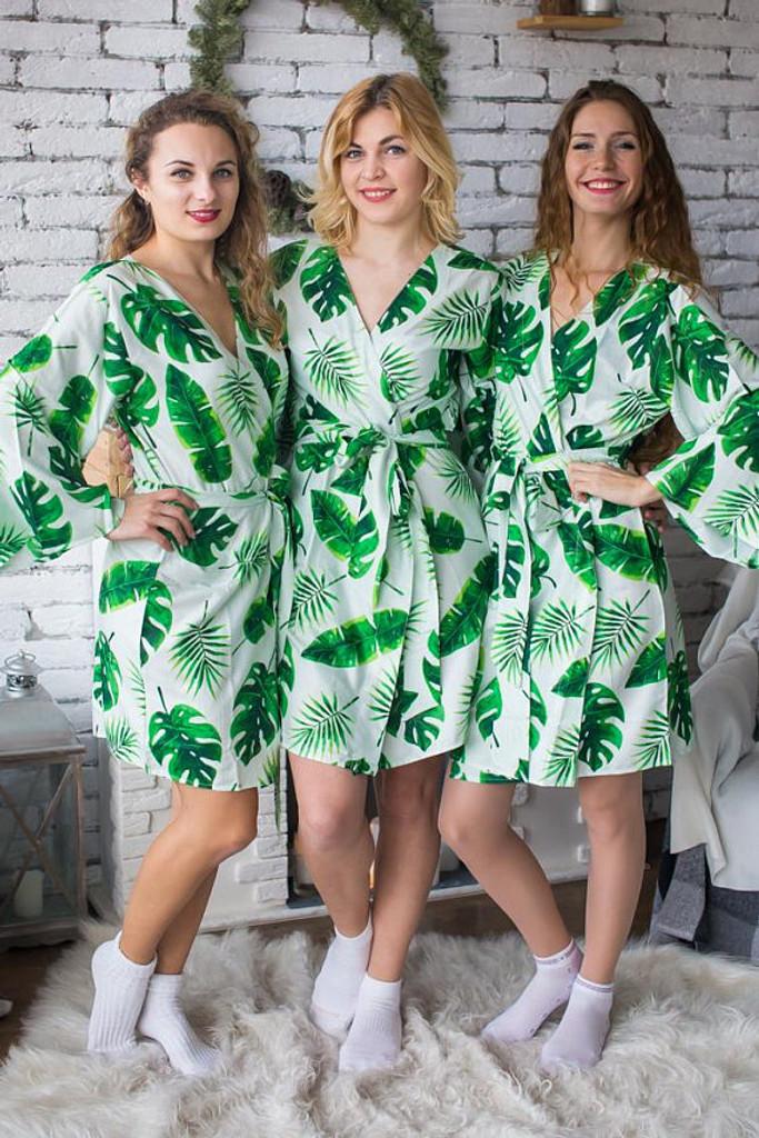set of bridesmaids robes