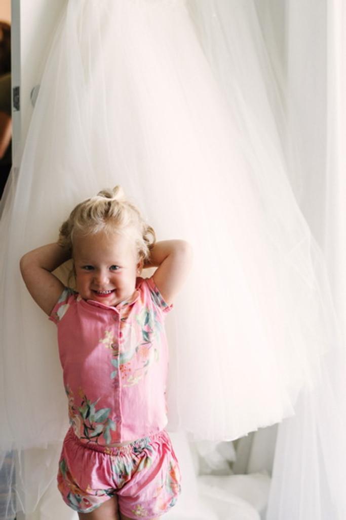 Dusty Pink Dreamy Angel Song Bridesmaids PJ Set