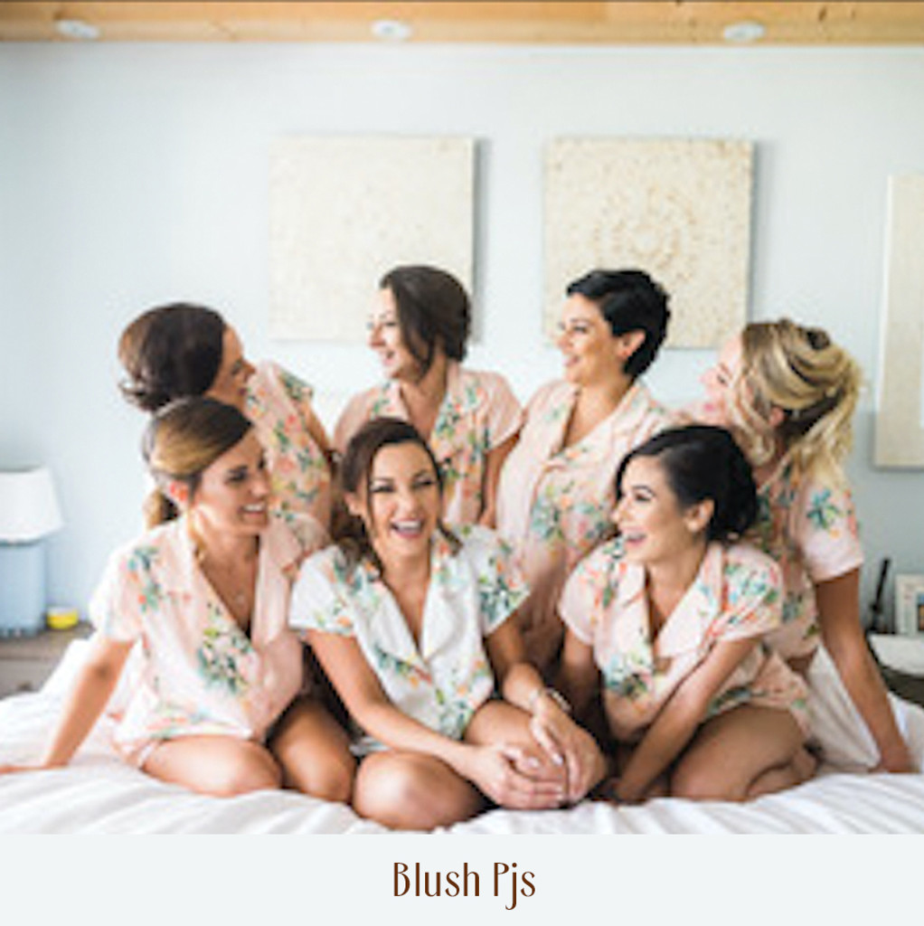 set of 6 bridesmaids Pj set