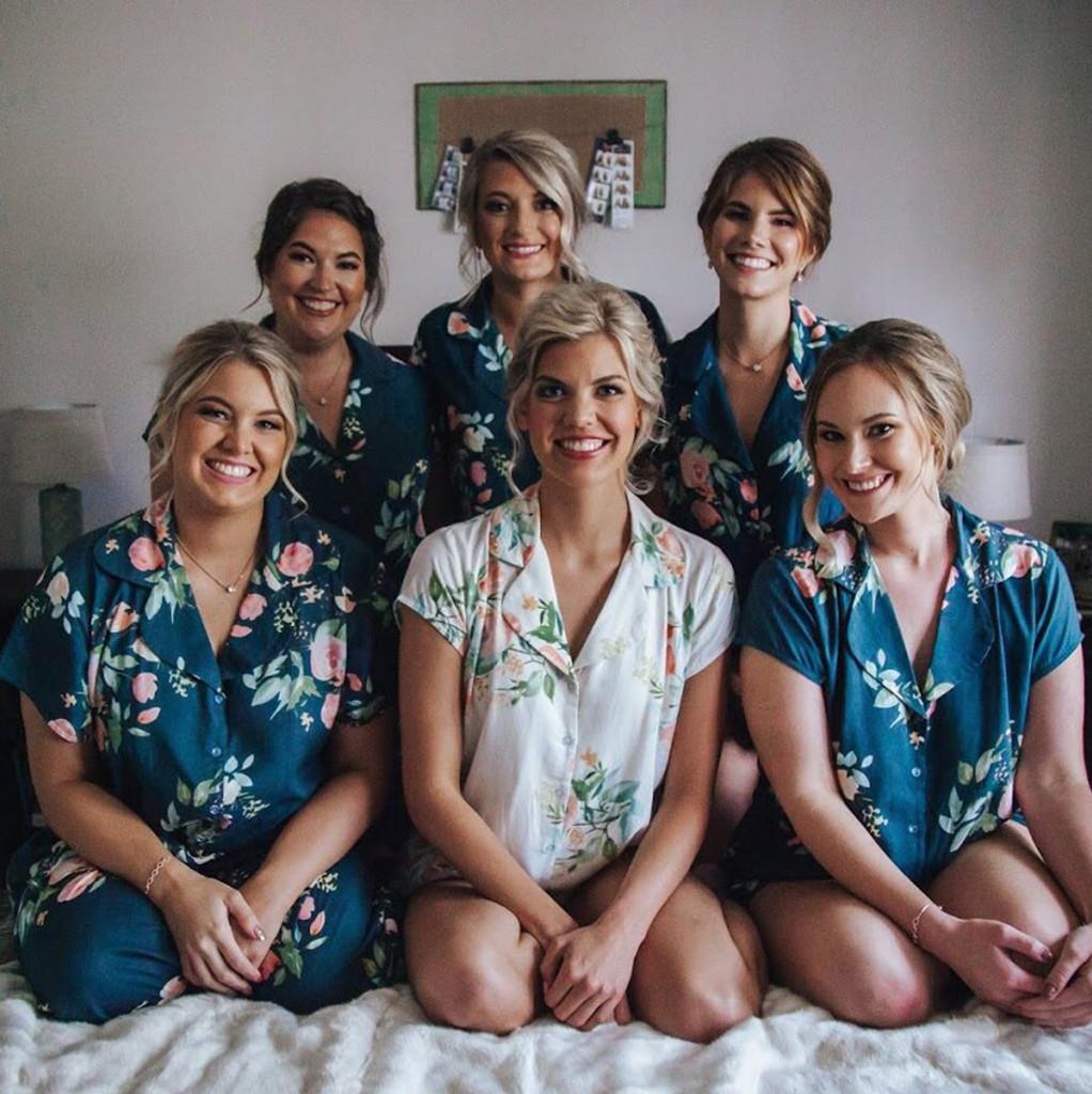 Set of 6 bridesmaids Pj set