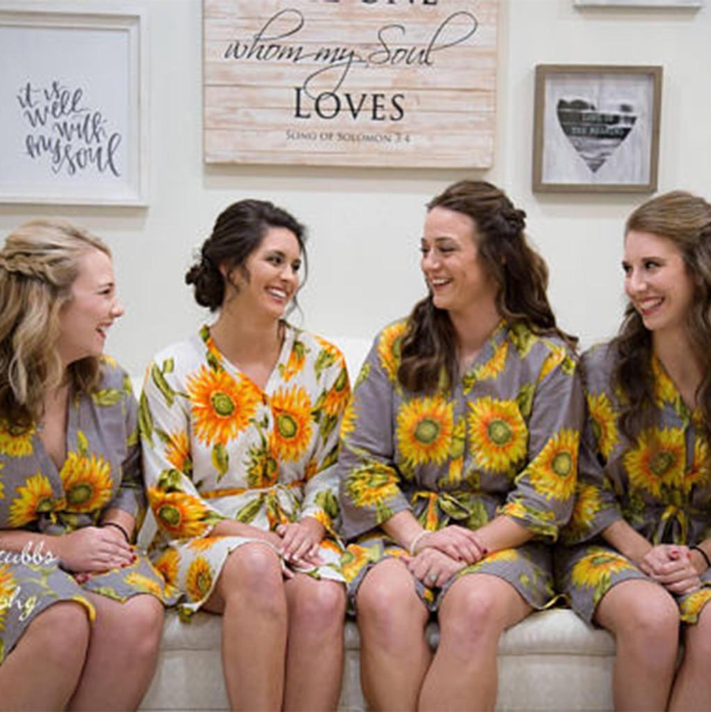 bride and bridesmaids set of 4
