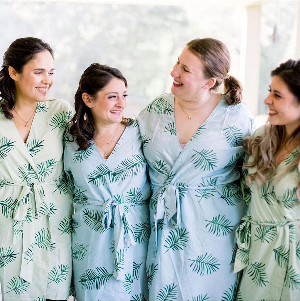 set of 4 bridesmaids robes