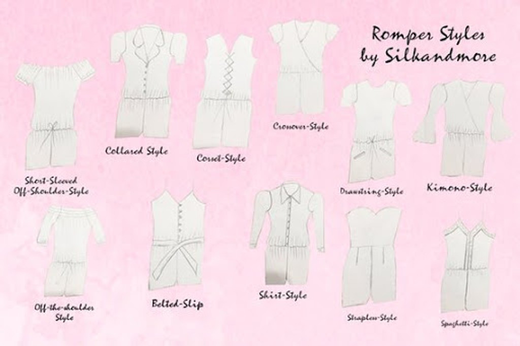 rompers styles