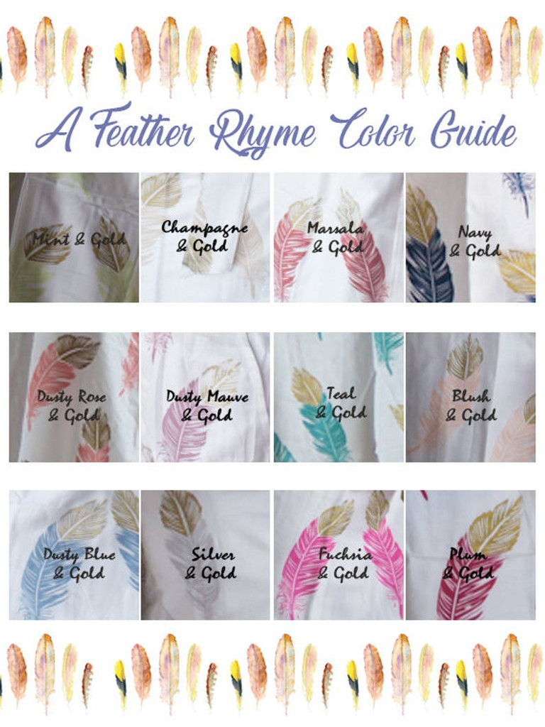 Teal Notched Collar Style PJs in Feather Rhyme