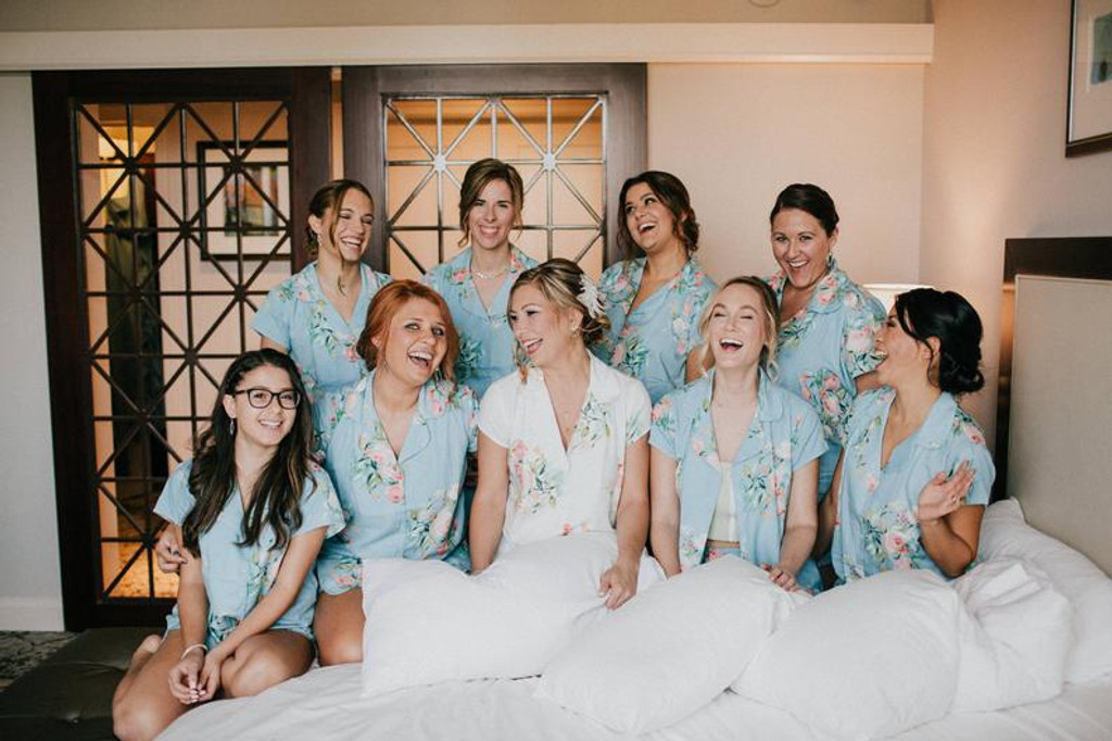 set of 9 bridesmaids pj