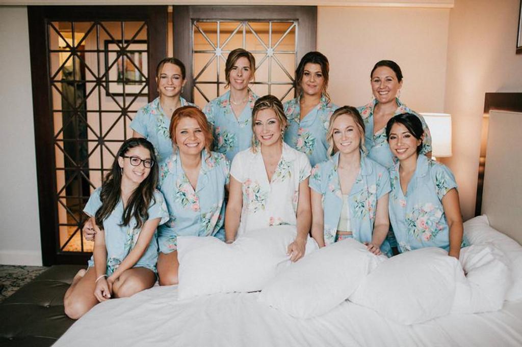 set of bridal pjs