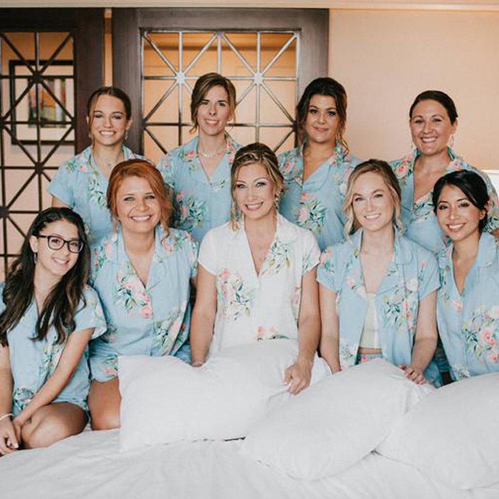 Set of bridesmaids pjs