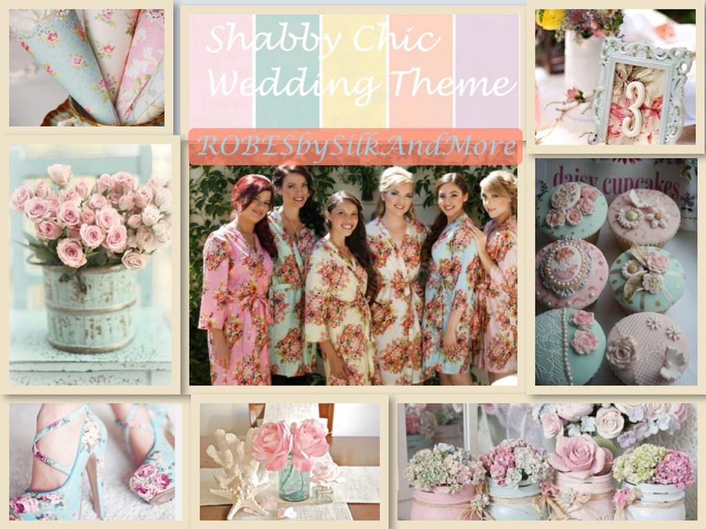 Shabby Chic Wedding Theme