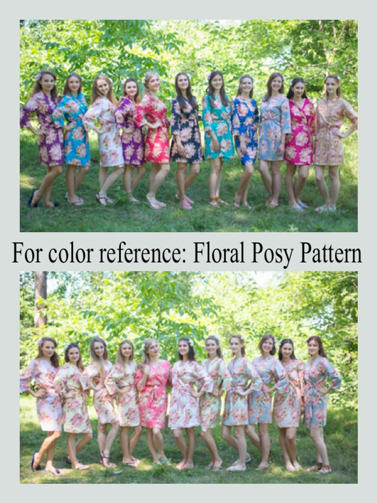 Floral Posy Pattern Colors