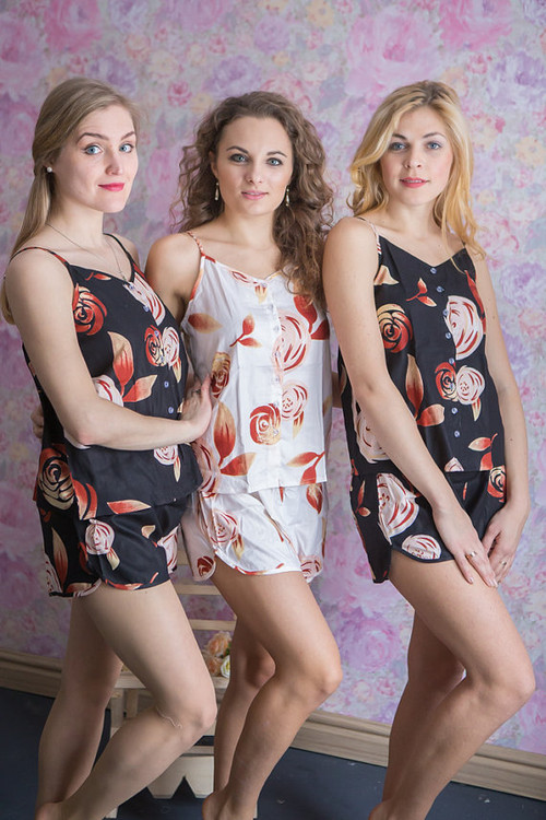 Spaghetti Style PJs in a rumor among fairies Pattern