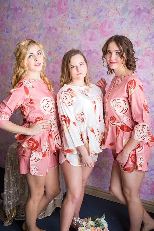 Peplum Style PJs in a rumor among fairies Pattern