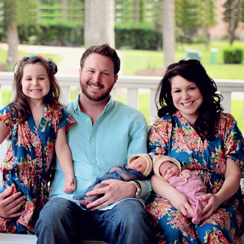 Baby Mommy Matching Kaftan Robes