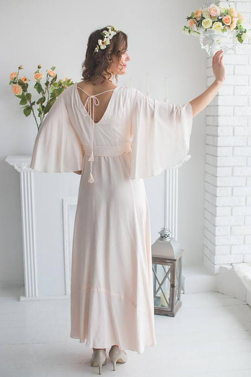 Soft Blush Bridal Robe from my Paris Inspirations Collection - Graceland in Blush
