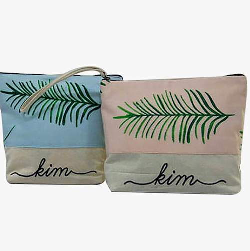 bridesmaids cosmetic bags